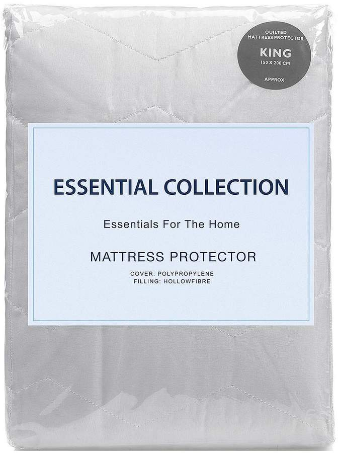 Essentials Collection Quilted Mattress Protector – Buy One Get One FREE!