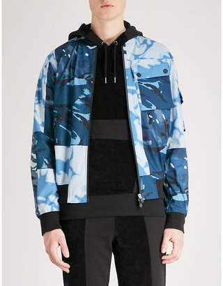 RAEBURN X SAVE THE DUCK Camouflage-print shell bomber jacket