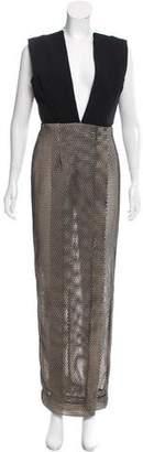 SOLACE London Honeycomb Mesh Dress w/ Tags