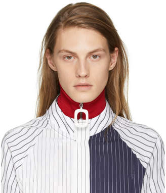 J.W.Anderson Red Wool Neck Band