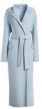 The Row Women's Amoy Cashmere & Virgin Wool Wrap Coat