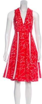 Marc by Marc Jacobs Silk-Blend Knee-Length Dress