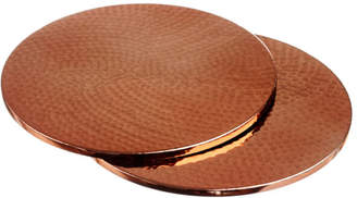 Just Slate Copper Place Mats - Set of 2