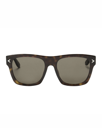Givenchy Dark Havana Wayfarer Sunglasses $325 thestylecure.com