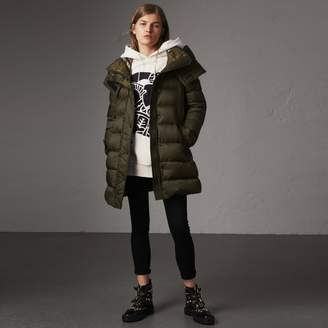 Burberry Detachable Hooded Down-filled Puffer Coat