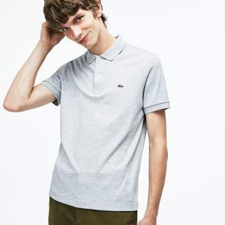 Lacoste Men's Regular Fit Pima Cotton Interlock Polo