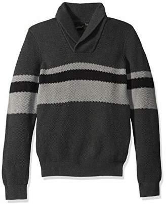 Armani Exchange A|X Men's Pullover Fantasy Stitch Stripe Sweater