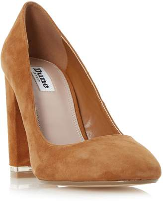 Dune LADIES ADRIANE - Block Heel Round Toe Court Shoe