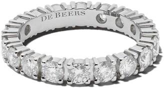 De Beers Platinum DB Classic Full Eternity diamond 3mm band
