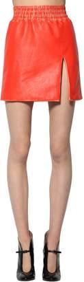 Miu Miu Vintage Leather Mini Skirt