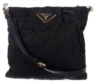 Prada Distressed Tessuto Crossbody Bag