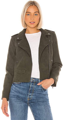 BB Dakota Aint It Cool Faux Suede Jacket