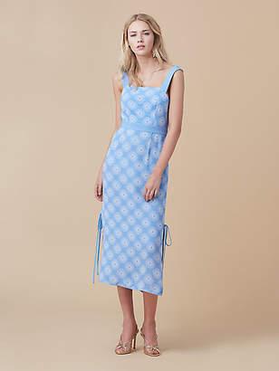 Diane von Furstenberg Open Back Midi Dress