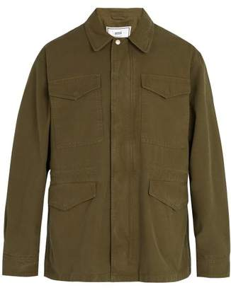 Ami Military Cotton Parka - Mens - Green