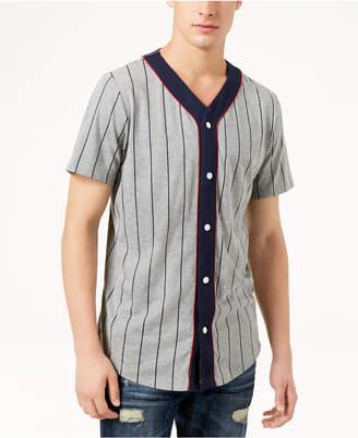 American Rag Men's Short Sleeve Baseball Shirt, Created for Macy's