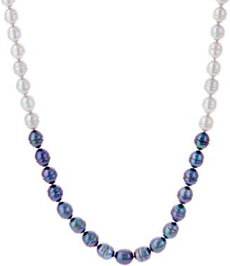 """Honora Cultured Pearl 24"""" Tonal Necklace, Sterling Silver"""