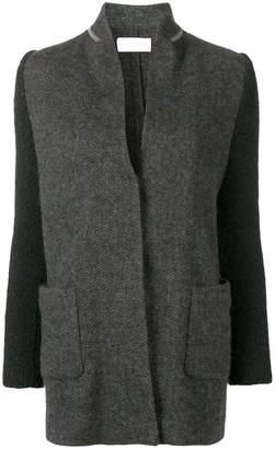 Fabiana Filippi colour block multi-textured jacket
