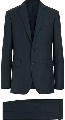 Burberry Slim Fit Wool Mohair Silk Suit