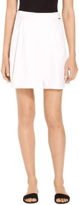 St. John Drapey Twill Shorts