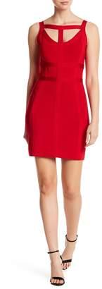 Bebe T-Straps Bandage Dress