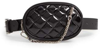 Steve Madden Quilted Faux Leather Belt Bag