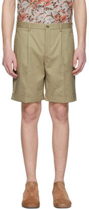 BEIGE Editions M.R Pleated Shorts