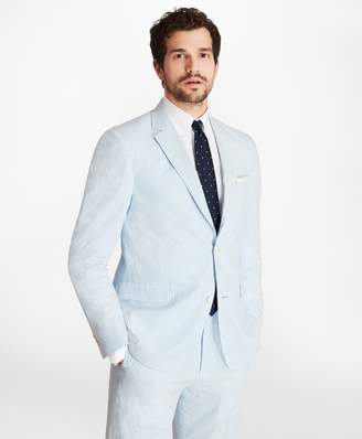 Brooks Brothers Regent Fit Seersucker Sport Coat