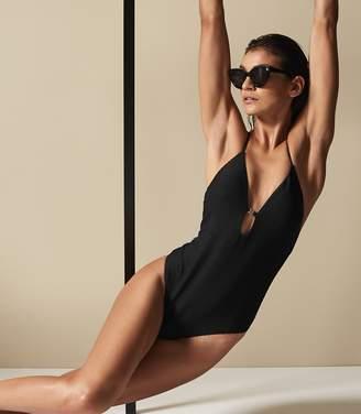 Reiss Capri Cross Back Swimsuit