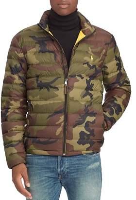 Polo Ralph Lauren Camouflage-Print Packable Down Jacket
