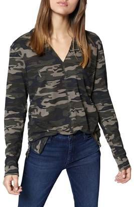 Sanctuary Ives Long Sleeve Camo Tee