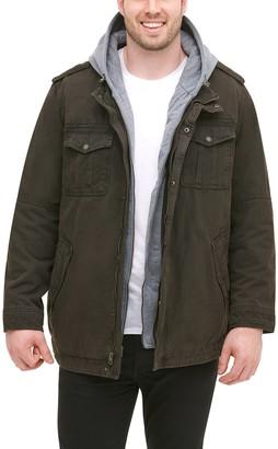Levi's Levis Big & Tall Hooded Trucker Jacket