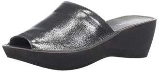 Kenneth Cole Reaction Women's Fine Mule Platform Slide Sandal Wedge
