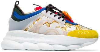 Versace Chain Reaction Baroque print sneakers