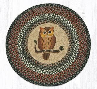 Earth Rugs Owl Printed Area Rug Earth Rugs