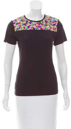 Just Cavalli Open Back Graphic T-Shirt