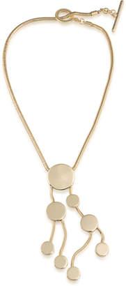 Trina Turk Cascading Disc Necklace