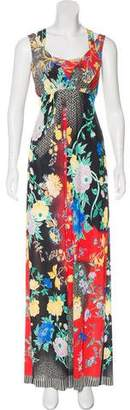 Etro Floral Maxi Dress w/ Tags