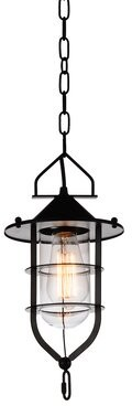 CWI Lighting Rhine 1-Light Single Urn Pendant CWI Lighting