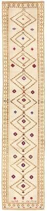 "ABC Home Vintage Anatolian Wool Runner - 3'3""x16'3"""