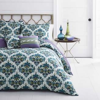 Azalea Azaela Skye Skye Luna Medium Blue Duvet Cover Set, Full/Queen