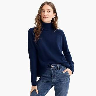 J.Crew Turtleneck sweater with side slits in supersoft yarn