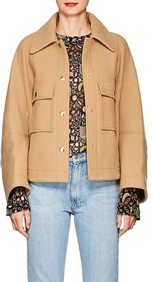 Chloé Women's Wool-Blend Bomber Jacket