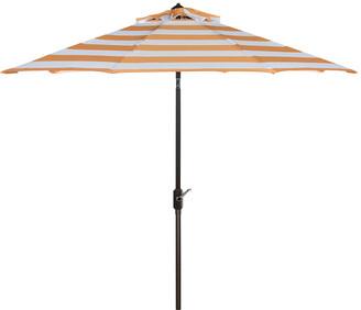Safavieh Up Resistant Iris Fashion Line 9Ft Auto Tilt Umbrella