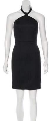 Rachel Zoe Textured Halter Dress