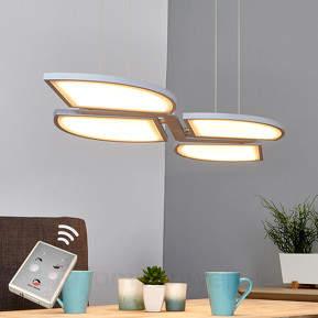 Funktionale, moderne LED-Hängeleuchte Aurela
