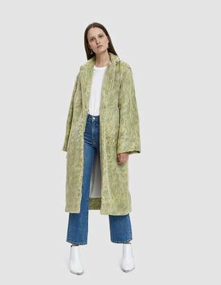 Collina Strada Easy E Organza Faux Fur Jacket