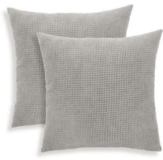 ABS by Allen Schwartz Essentials by Tyler Textured Woven Toss Pillow, Set of 2