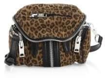 Alexander Wang Marti Micro Leopard Print Shoulder Bag