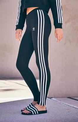 adidas Adicolor Black 3-Stripes Leggings