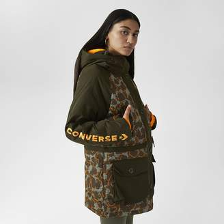 Converse Dover Leopard Sideline Down Fill Womens Jacket
